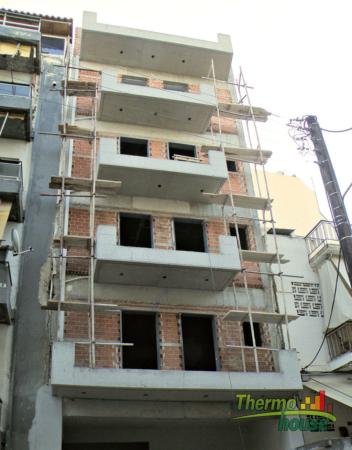 Θερμοπρόσοψη 4όροφης πολυκατοικίας στην Αμφιάλη 3